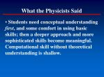 what the physicists said4