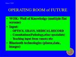 operating room of future