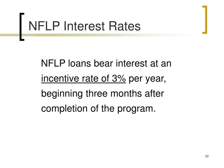 NFLP Interest Rates