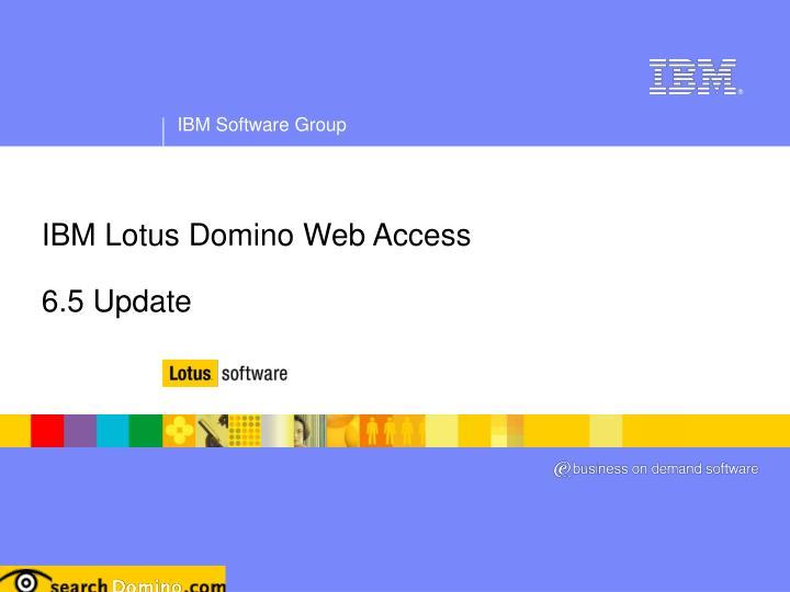 IBM Lotus Domino Web Access