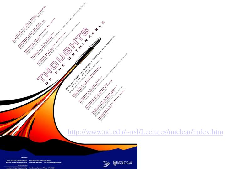 http://www.nd.edu/~nsl/Lectures/nuclear/index.htm