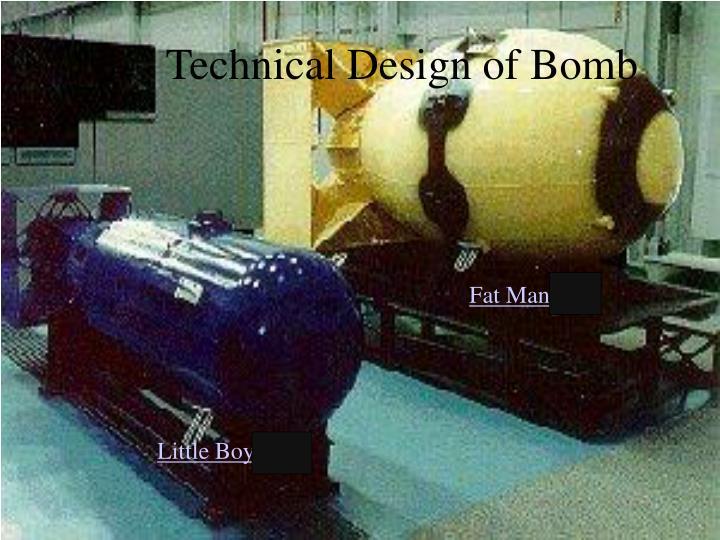 Technical Design of Bomb