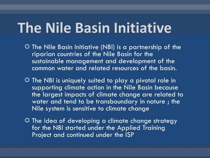 The Nile Basin Initiative
