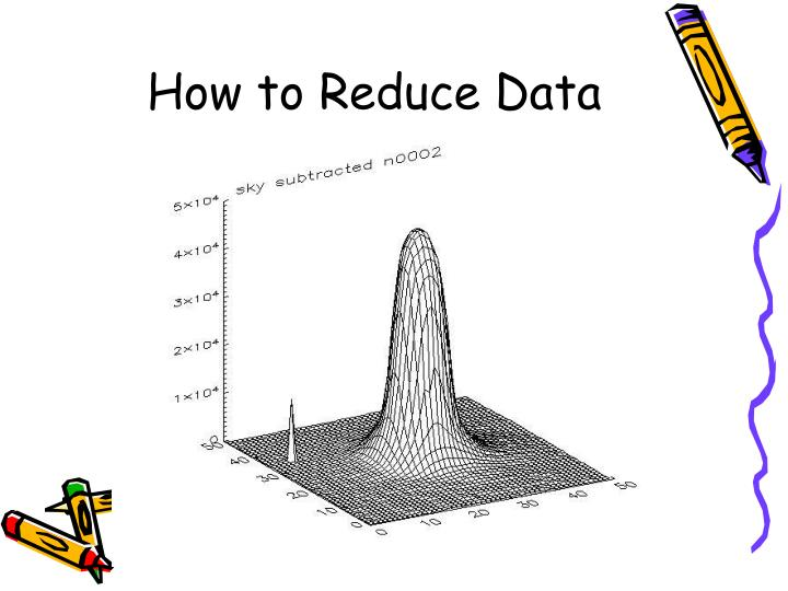 How to reduce data
