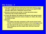 file systems 3