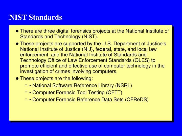 NIST Standards