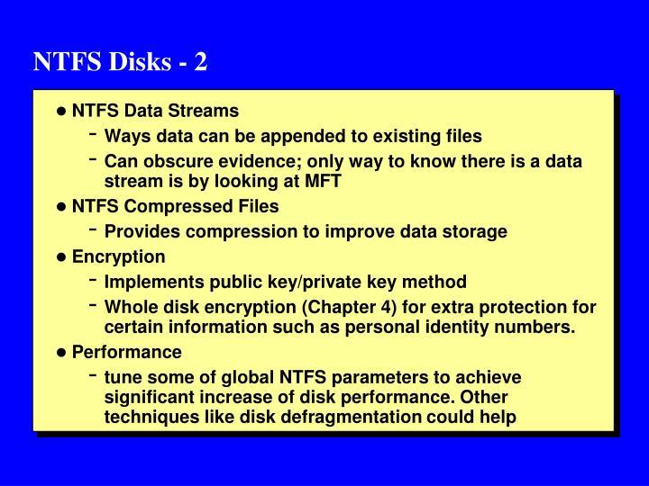 NTFS Disks - 2