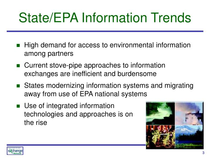 State/EPA Information Trends