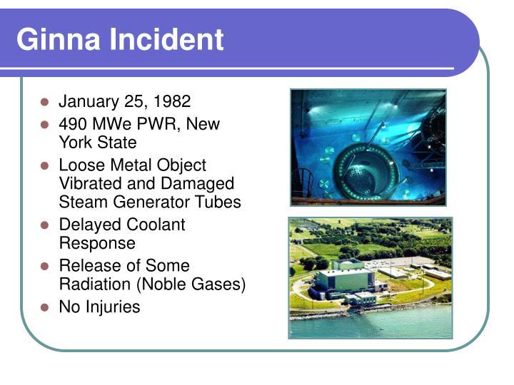 Ginna Incident