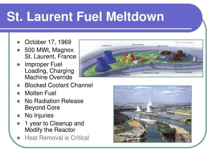 St. Laurent Fuel Meltdown