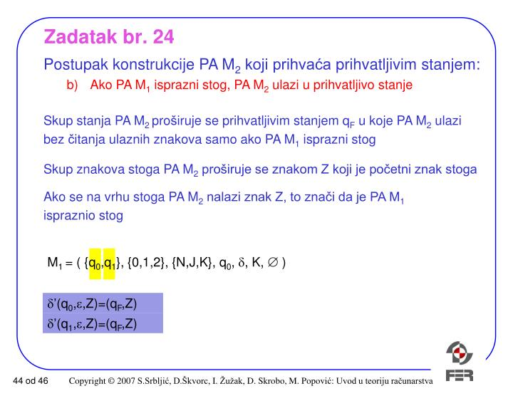 Zadatak br. 24