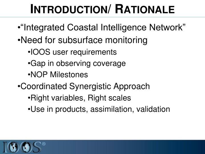 """Integrated Coastal Intelligence Network"""
