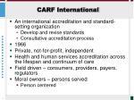 carf international1