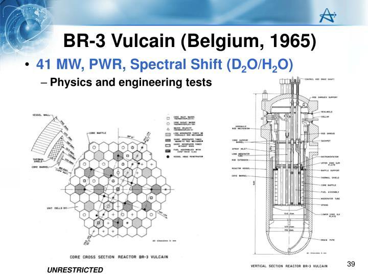 BR-3 Vulcain (Belgium, 1965)