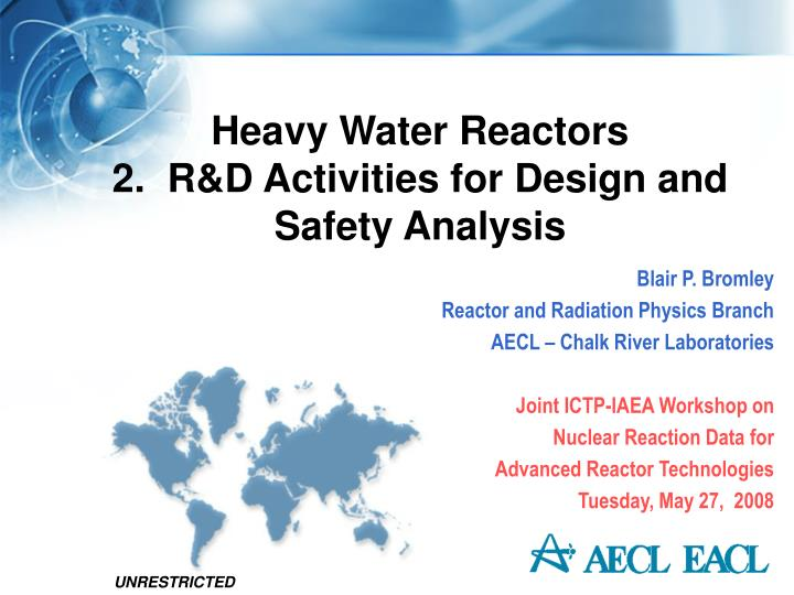Heavy Water Reactors
