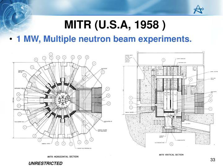 MITR (U.S.A, 1958 )
