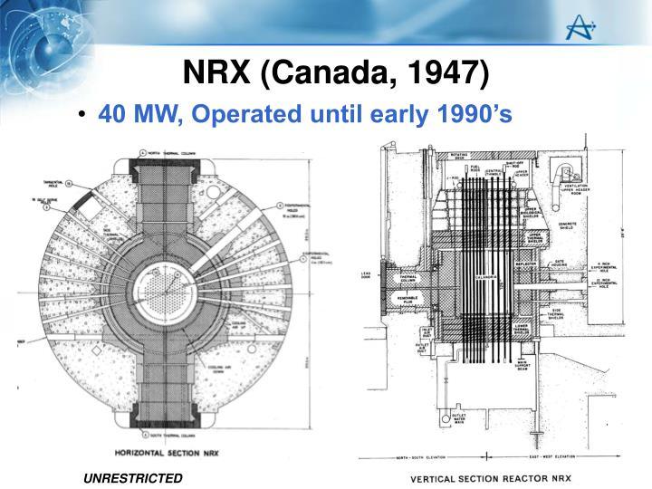 NRX (Canada, 1947)