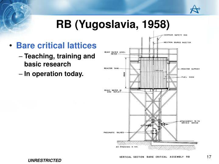 RB (Yugoslavia, 1958)