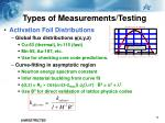 types of measurements testing2
