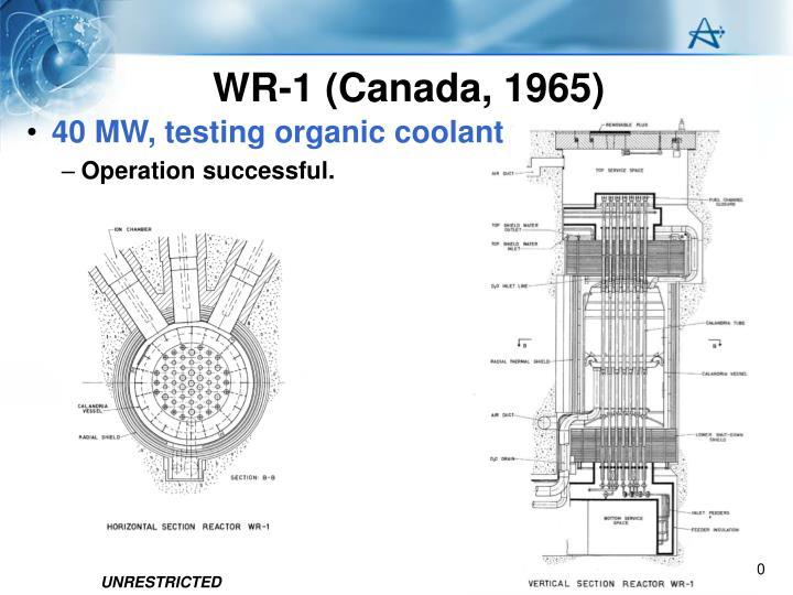 WR-1 (Canada, 1965)