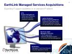 earthlink managed services acquisitions