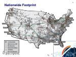 nationwide footprint