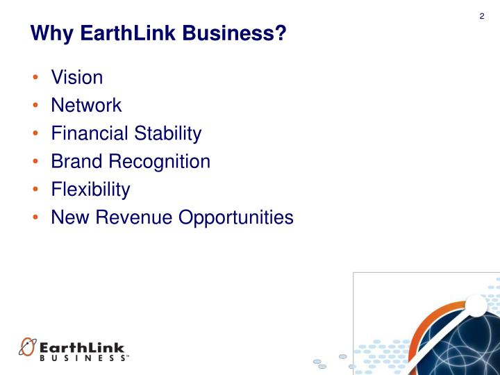 Why EarthLink Business?