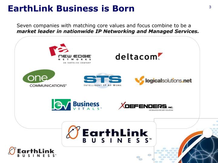 EarthLink Business is Born
