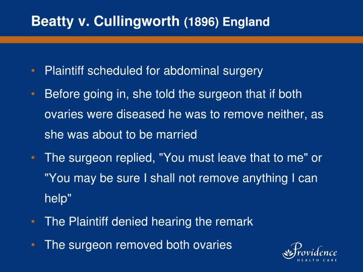 Beatty v. Cullingworth