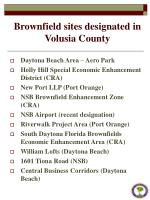 brownfield sites designated in volusia county