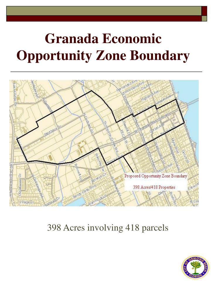 Granada Economic Opportunity Zone Boundary
