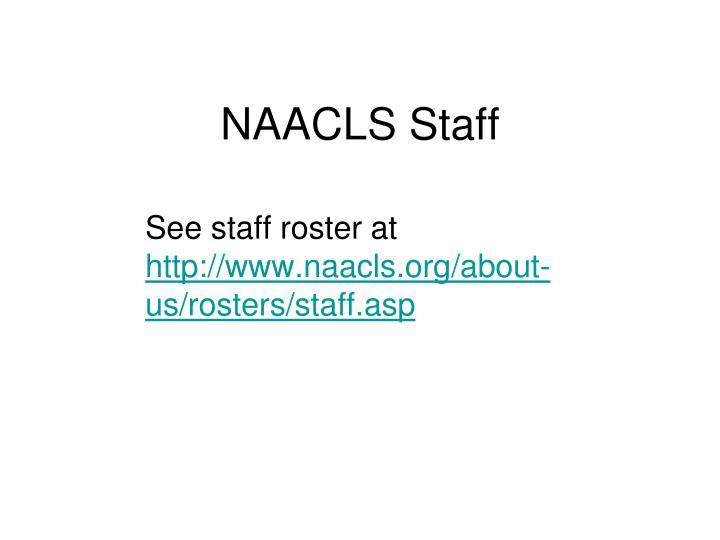 NAACLS Staff