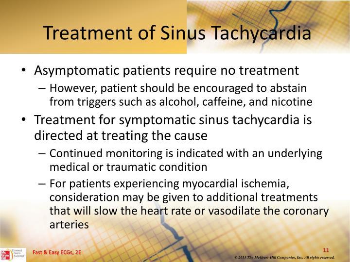 Treatment of Sinus Tachycardia