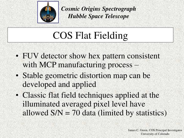 COS Flat Fielding