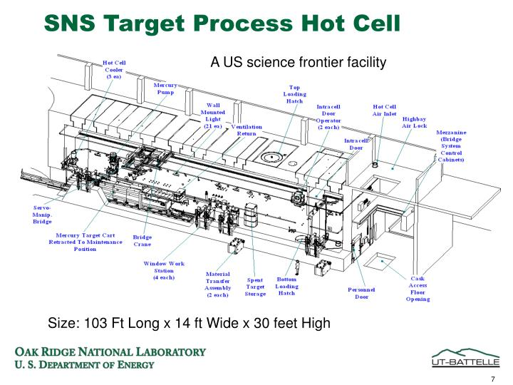SNS Target Process Hot Cell