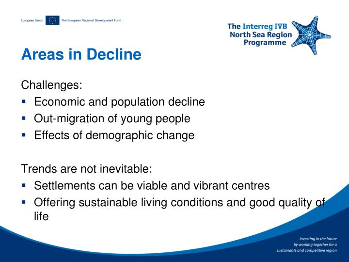 Areas in Decline