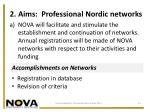 2 aims professional nordic networks