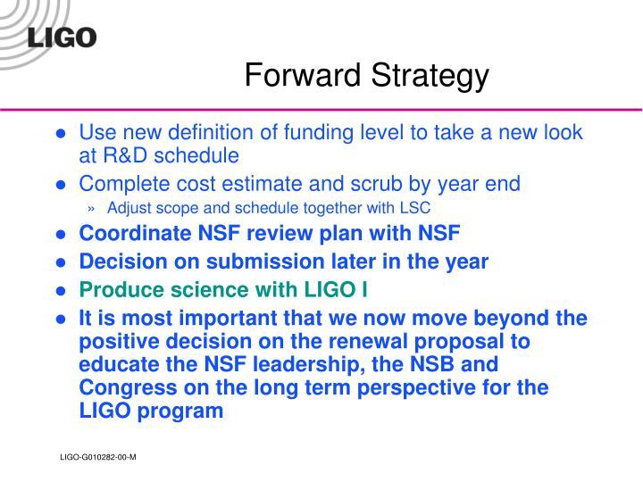 Forward Strategy