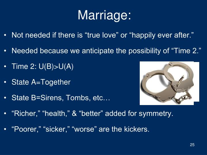 Marriage: