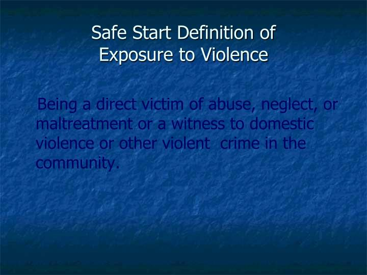 definition of violence Define violence in the media: column  the absence of an agreed upon definition of media violence and behavioral aggression.