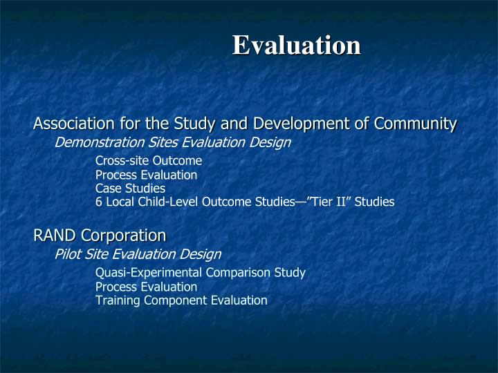Association for the Study and Development of Community