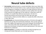 neural tube defects1