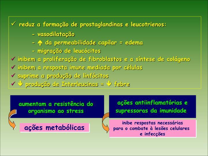 ações metabólicas