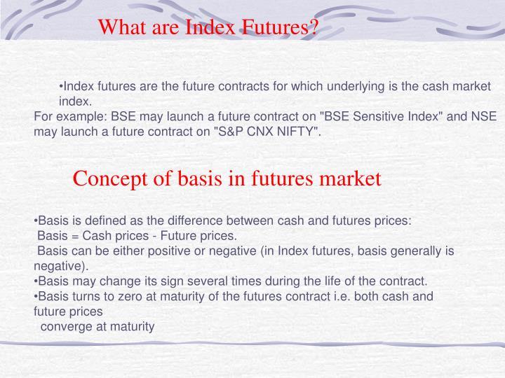 What are Index Futures?