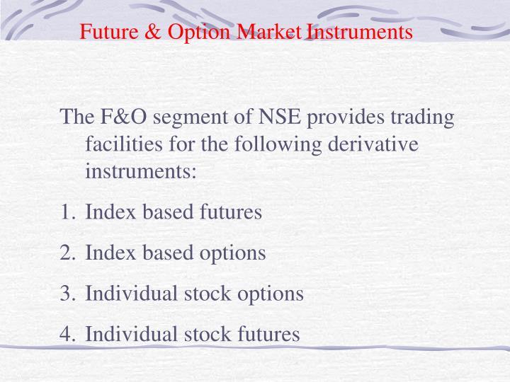 Future & Option Market