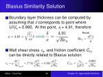 blasius similarity solution2