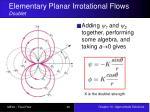 elementary planar irrotational flows doublet1