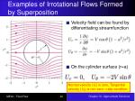 examples of irrotational flows formed by superposition2