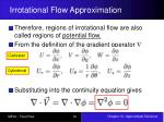 irrotational flow approximation2
