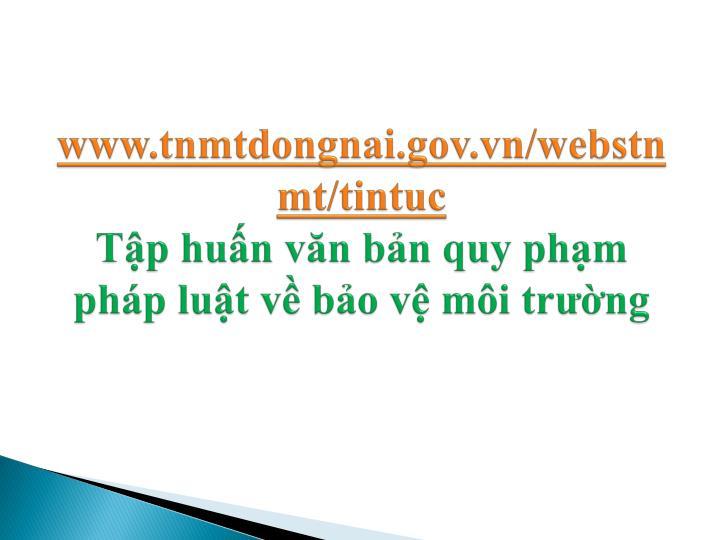 www.tnmtdongnai.gov.vn/webstnmt/tintuc